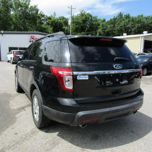 2013 BLACK FORD EXPLORER (1FM5K7B80DG) with an 3.5L engine, Automatic transmission, located at 830 E. Canino Rd., Houston, TX, 77037, (281) 405-0440, 38.358219, -81.729942 - Photo #3