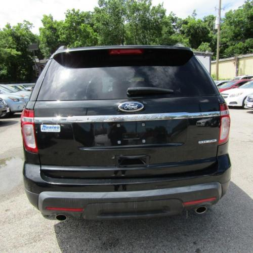 2013 BLACK FORD EXPLORER (1FM5K7B80DG) with an 3.5L engine, Automatic transmission, located at 830 E. Canino Rd., Houston, TX, 77037, (281) 405-0440, 38.358219, -81.729942 - Photo #4