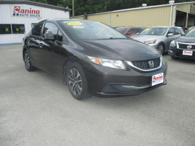 2013 BLACK HONDA CIVIC EX (2HGFB2F82DH) with an 1.8L engine, Automatic transmission, located at 830 E. Canino Rd., Houston, TX, 77037, (281) 405-0440, 38.358219, -81.729942 - Photo #0