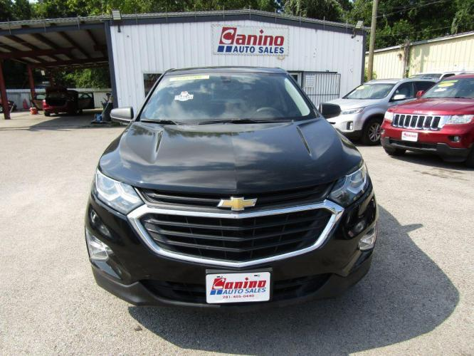 2018 BLACK CHEVROLET EQUINOX LS (2GNAXHEV2J6) with an 1.5L engine, Automatic transmission, located at 830 E. Canino Rd., Houston, TX, 77037, (281) 405-0440, 38.358219, -81.729942 - Photo #0