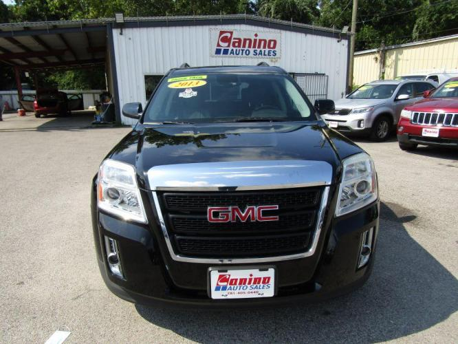 2013 BLACK GMC TERRAIN SLE (2GKALSEK7D6) with an 2.4L engine, Automatic transmission, located at 830 E. Canino Rd., Houston, TX, 77037, (281) 405-0440, 38.358219, -81.729942 - Photo #0