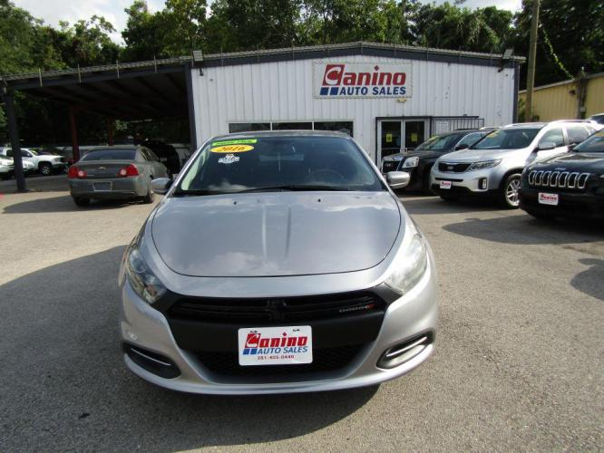 2016 SILVER DODGE DART SE (1C3CDFAA8GD) with an 2.0L engine, 6-Speed Manual transmission, located at 830 E. Canino Rd., Houston, TX, 77037, (281) 405-0440, 38.358219, -81.729942 - Photo #0