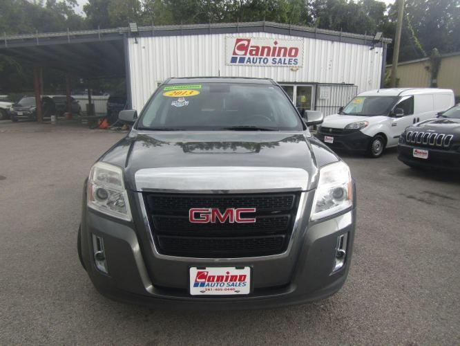 2013 GRAY GMC TERRAIN SLE (2GKFLREK2D6) with an 2.4L engine, Automatic transmission, located at 830 E. Canino Rd., Houston, TX, 77037, (281) 405-0440, 38.358219, -81.729942 - Photo #0
